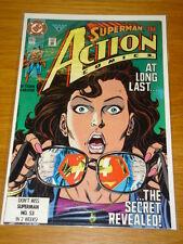 ACTION COMICS #662 NEAR MINT SUPERMAN IDENTITY REVEALED FEBRUARY 1991