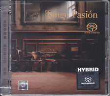 """Tango Passion"" Audiophile Hybrid Stereo DSD SACD Germany CD New Sealed"