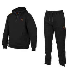 Fox Collection Black Orange Hoody & Joggers / Carp Fishing Clothing