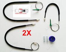 2X Seat Altea Regulador de Ventana Eléctrica Kit De Reparación delantero lado derecho e izquierdo Conjunto