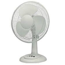 """Raffreddamento ad aria Bianco Casa & Ufficio 12"""" 3 velocità Desktop Oscillante Ventilatore da tavolo tavola"""