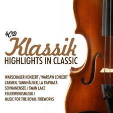 CD Klassik Highlights in Classic 4CDs Schwanensee, Carmen, Warschauer Konzert