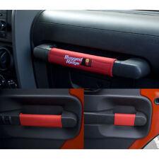 Jeep Wrangler Jk 07-10 4 Door Red Door Handle Cover Kit X 13305.55