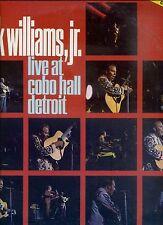 HANK WILLIAMS JR live at cobo hall Detroit US EX LP POLYDOR