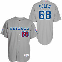 Chicago Cubs #17 Jorge Soler Jersey Retro
