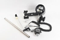 Aquaflash Underwater Helix With Sensor Sync Cord Brackets for Nikonos WORKS V24