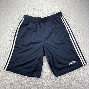 Adidas Shorts Adult Large Blue Gym Training Workout Logo Pockets Climacool F5