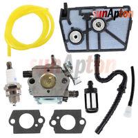 Carburetor For Stihl 028 028AV Super Chainsaw Tillotson HU-40D Air Filter Kit