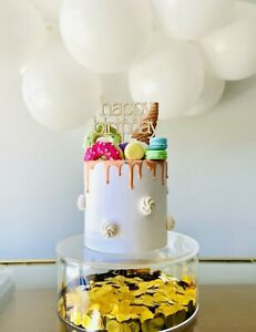 FILLABLE CAKE STAND |  Birthday | Wedding | Cake Decoration | Balloons | Flowers