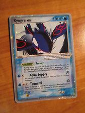 NM Pokemon KYOGRE EX Card BLACK STAR PROMO Set #037 Nintendo Collector Tin Holo
