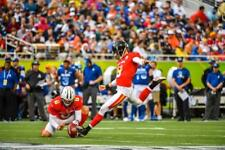 CHRIS BOSWELL STEELERS FG PRO BOWL 1/28/18 COLOR 8X10
