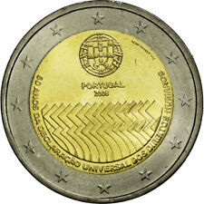 [#586891] Portugal, 2 Euro, Declaration of Human Rights, 60th Anniversary, 2008