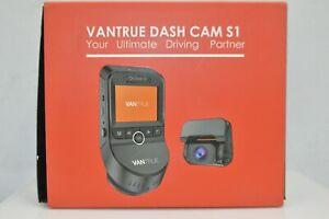 Vantrue S1 4K Dual Dash Cam Vehicle Cam Recorder,Built in GPS,Night Vision