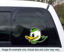 2020 OREGON DUCKS custom Puddles Duck Printed vinyl decal you choose size/color