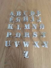 Single Letter Alphabet Initial Personal Cufflinks,Mix & Match (Buy 2 for a pair)