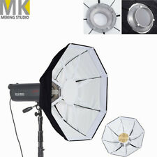 "65cm 26"" Studio Octagon Diffuser Reflector Softbox with Beauty Dish Bowens Mount"