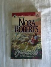 Nora Roberts Enchanted and Charmed Paperback books
