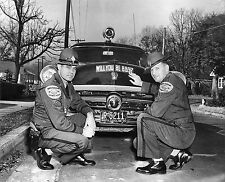 1955  North Carolina  Highway Patrol Fatality 889 Promo 8 x 10 Photograph