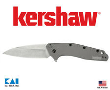 "Kershaw Knives 1812GRY Dividend Blade Show Winner 3"" Blade 420HC Stonewashed"