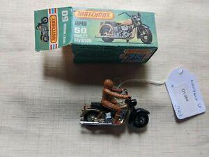 matchbox 50 harley davidson model car Q1 084 M