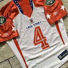 2009 Reebok NFL Jersey Team Game Issued Brett Favre AFC New York Jets Packers 52