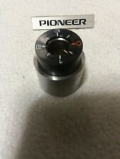 Pioneer PL-112D PL-115D PL-117D Turntable Tone Arm Counterweight Excellent Cond.