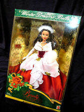 Barbie Style collectionneurs Beauty and the Beast 1998 doll Winter Dreams Belle