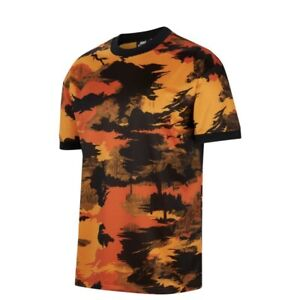 Nike Sportswear Hype Hike Men's Large L-Tall Shirt Oregon Starfish Orange NWT