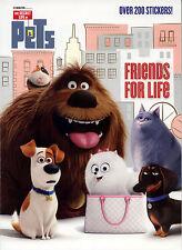 Secret Life of Pets coloring book RARE UNUSED