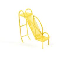 Miniature Dollhouse Fairy Garden - Micro Mini Yellow Slide - Accessories