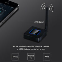 1080P Car Home Wifi Display TV Dongle Mirror Link For Iphone Windows Android