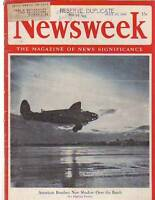 1942 Newsweek July 27-WAACs start training; Croatia hatred; Whirlaway; Bastille