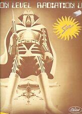 SUN - RADIATION LEVEL / A TASTE OF HONEY do it good RARE DUTCH 12INCH 45 RPM  EX