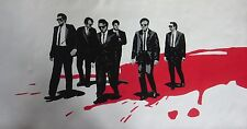 Reservoir Dogs 40x16 Pop art style Oil Painting,NOT a print,framing available.