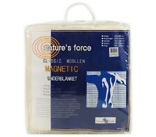 Double Natures Force Classic Woolen Strap Fitted Magnetic Underblanket