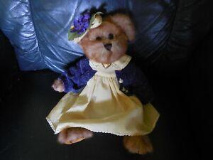 Pretty Plush Bearington Bear No Paper Tag