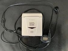 Sony Portable MiniDisc Player Mz-E33