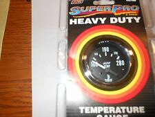 SUPERPRO #2700 ELECTRIC WATER TEMPERATURE GAUGE--100 TO 280 DEGREES F.