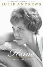 HOME A Memoir of My Early Years by Julie Andrews FREE SHIPPING paperback book
