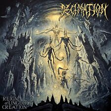 DECIMATION-REIGN OF UNGODLY CREATION-CD-technical-death-nile-deeds of flesh