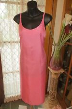 VINTAGE 80'S does 50'S ~ MISS SHOP ~ Pink Sheath ~ DRESS * Size 10 *