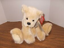 "Gund Bear Augie Plush 60036 Tan Soft Stuffed Animal 9"" Designed By Mica"