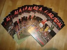 Away Teams Arsenal Football Programme Collections/Bulk Lots