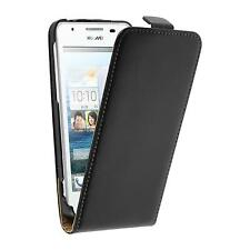 Couverture en cuir artificiel Huawei Ascend G525 Flip-Case noir