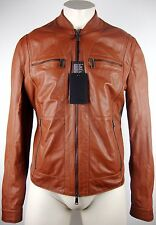 DSQUARED 2 Giacca di pelle s74am0429 LEATHER JACKET GIACCA UOMO TG 50 NUOVO con ETIKET