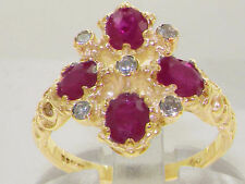 Ruby Yellow Gold Natural Fine Gemstone Rings