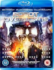 Robot Overlords Blu-Ray Gillian Anderson Ben Kingsley New & Sealed FREE SHIPPING
