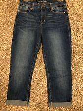 NWOT Old Navy High-Rise Capri Jeans, Size 4