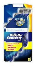 Gillette 13256738 Sensor3 Disposable Razors 8 Pack