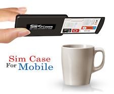 Drawer Design Case Holder For SIM Cards & Memory Cards, 3M Grip Pad Technology
